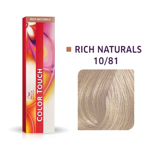 Wella Color Touch Rich Naturals #10/81 60ml
