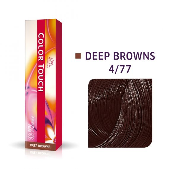 Wella Color Touch Deep Browns 4/77 60ml