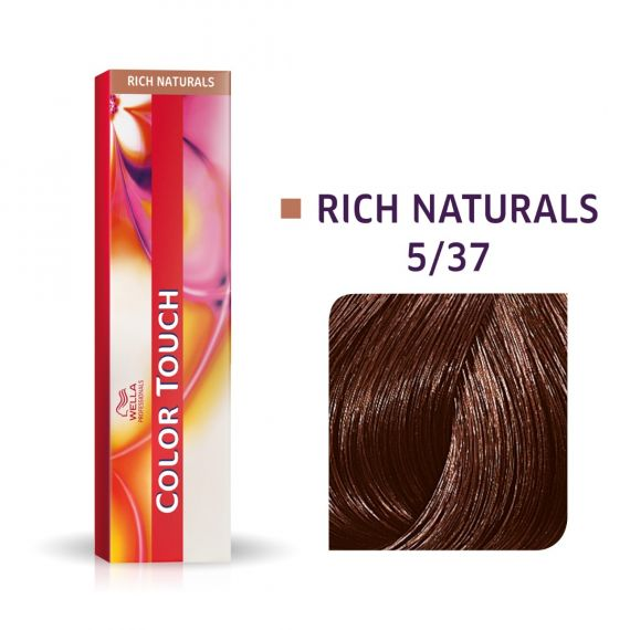 Wella Color Touch Rich Naturals 5/37 60ml