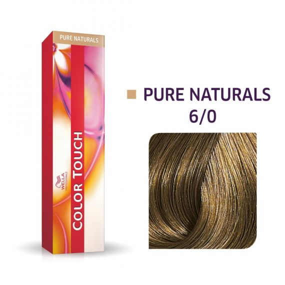 Color Touch Pure Naturals 6/0 60ml