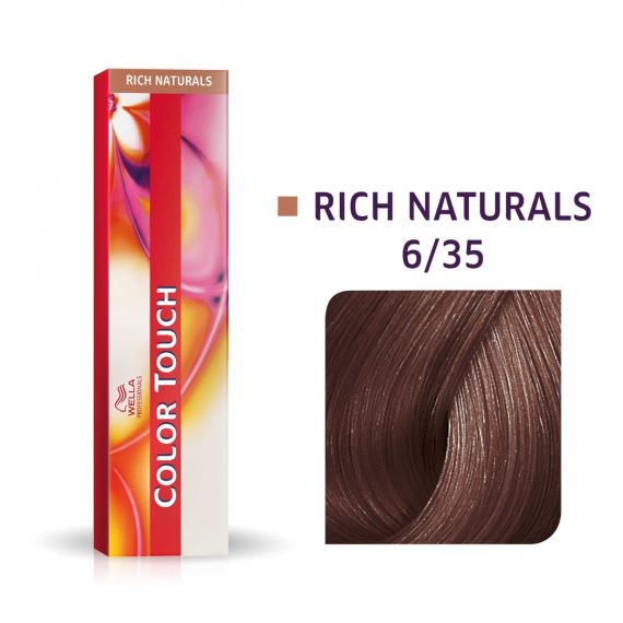 Wella Color Touch Rich Naturals 6/35 60ml