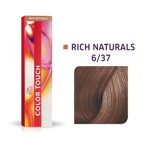 Wella Color Touch Rich Naturals 6/37 60ml