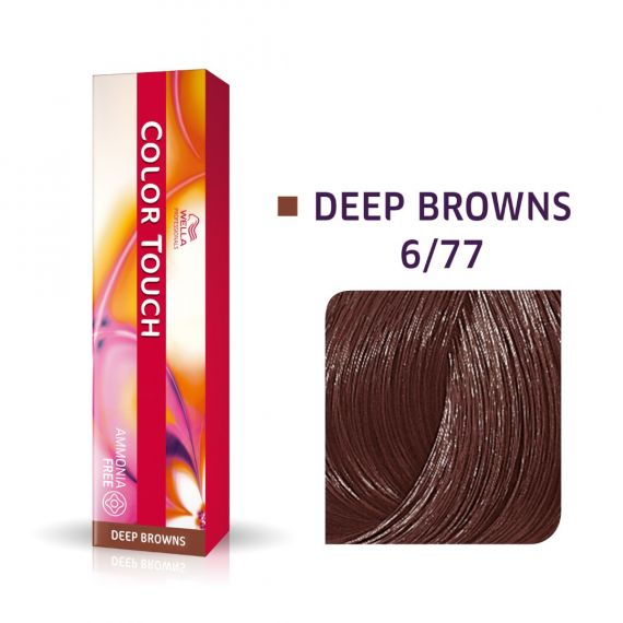 Wella Color Touch Deep Browns 6/77 60ml