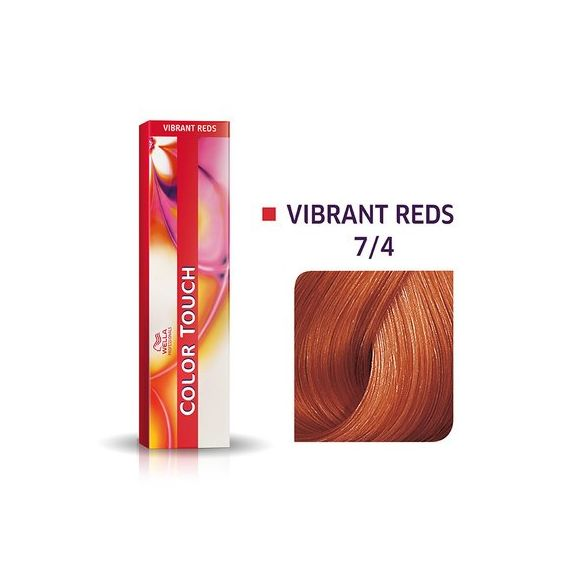 Wella Color Touch Vibrant Reds 7/4 60ml