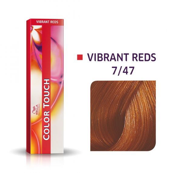 Wella Color Touch Vibrant Reds 7/47 60ml
