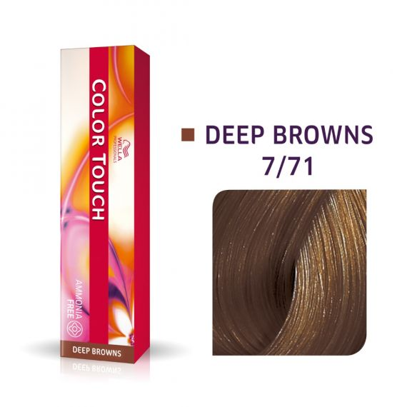 Wella Color Touch Deep Browns 7/71 60ml