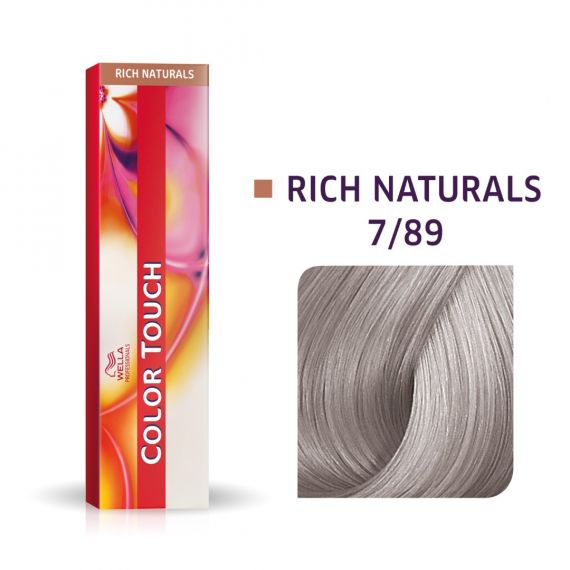 Wella Color Touch Rich Naturals #7/89 60ml