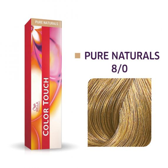 Color Touch Pure Naturals 8/0 60ml