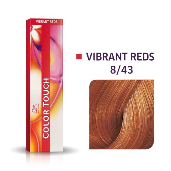 Wella Color Touch Vibrant Reds 8/43 60ml