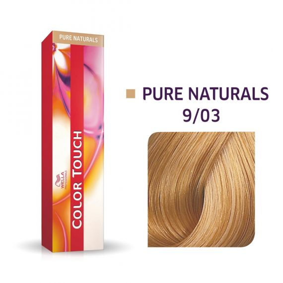 Color Touch Pure Naturals 9/03 60ml
