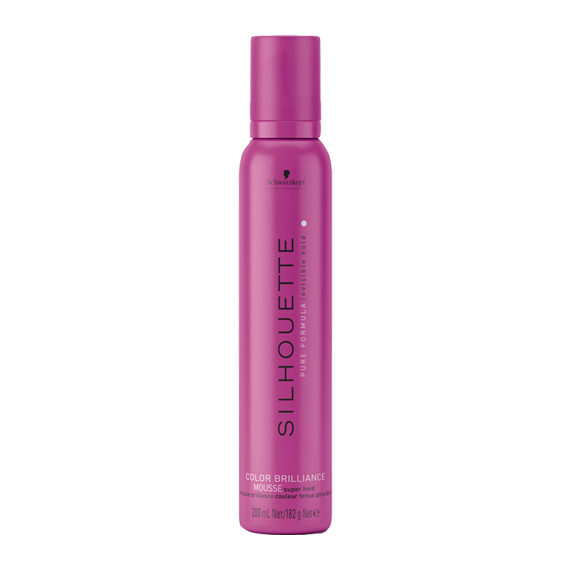 Silhouette Color Brilliance Mousse Super Hold 200ml