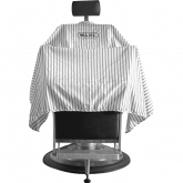 Barber Lightweight Cape Zwart Wit