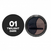 Eyebrow Powder Twilight Dark Brilliant 01